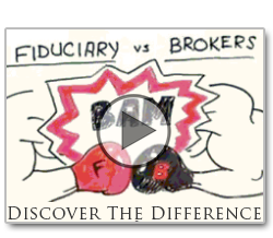 The difference between a fiduciary and brokers